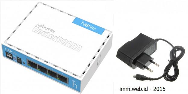 Mikrotik RB941-2nD Mini Murah bisa di suplay Power bank