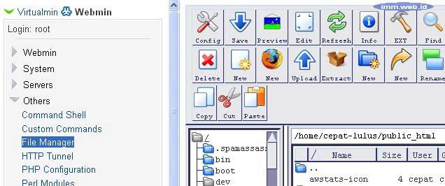 Gambar 4. File Manager